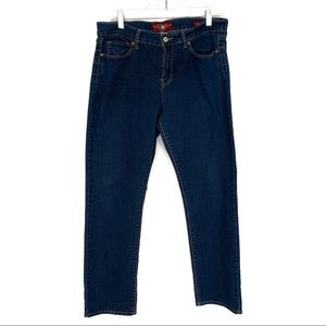 Lucky brand Sophia straight ankle jeans